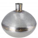 groothandel Bloemenpotten & vazen: Metalen vaas Dione, D22cm, H20cm, opening: ...